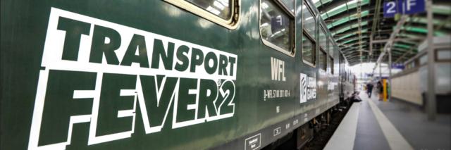 Transport Fever 2 on track