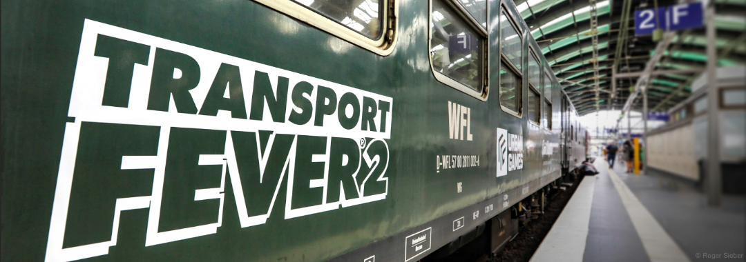 Transport Fever 2 on track